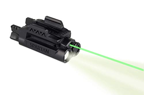 "LaserMax Spartan Adjustable Rail Mounted Laser/Light Combo (Green) SPS-C-G , 7.9 x 4 x 1.5"""