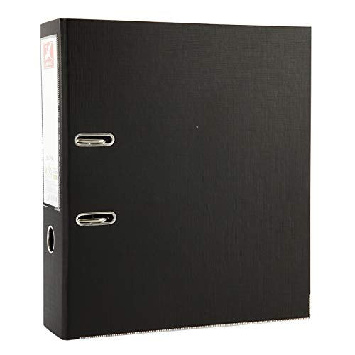 Flamingo A4 Ultra Strong 2-Ring 3-Inch Lever Arch Binder (Black)