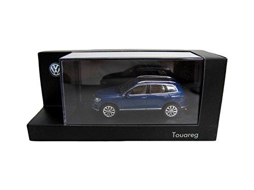Volkswagen 7p1099300ab5K Modell Auto Touareg 1: 43, Reef Blue Metallic