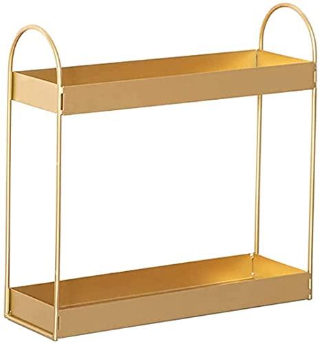 Metalen cosmetische display display plank tafelblad sieraden opslagplank voor dressoir,badkamer,slaapkamer,woonkamer…