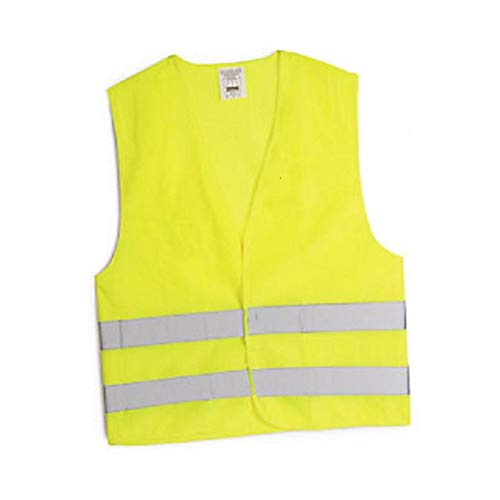 Gilet de securite jaune reflechissant ce en-471 t/xl unique