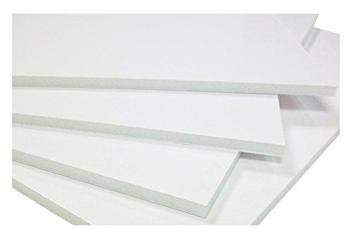West foam 3 mm A3 Foamboard - Weiß (Packung mit 15 Blatt)
