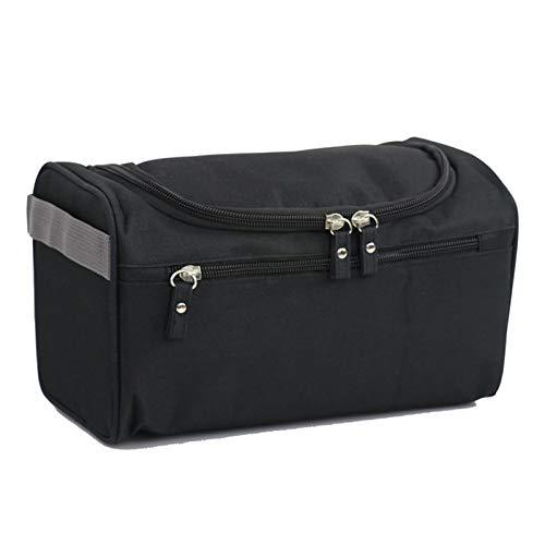 HOUHOU Cremallera hombre mujer impermeable maquillaje bolsa de maquillaje cosmético caja de belleza maquillaje organizador inodoro bolso kits almacenamiento de balbín de lavado de viaje bolso de tocad
