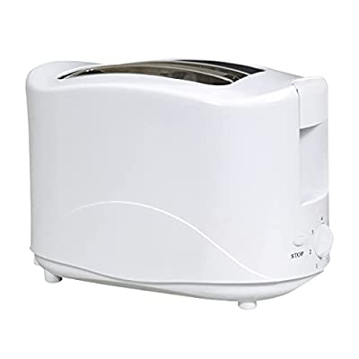 Cool Touch Elpine 2 Slice Toaster 750W Perfect For Home Office Students Gift BNIB WHITE 31358C