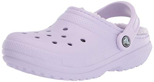 Crocs Men's and Women's Classic Lined Clog | Warm and Fuzzy Slippers