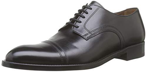 Lottusse L6871, Zapatos de Cordones Derby Hombre, Negro (Doc Negro Doc Negro),...