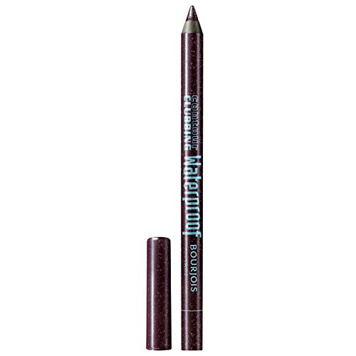 Bourjois - Crayon Yeux Contour Clubbing Waterproof - Couleur Vibrante et Longue Tenue - Texture crémeuse - 73 Plum Berry - 1,2gr