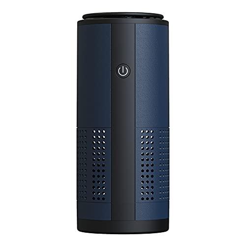 Air Purifier Portable Filter Element Large Air Volume Absorption Mini Car Air Purifier Removes Peculiar Smell PM2.5 Pollen Dust Zang blue