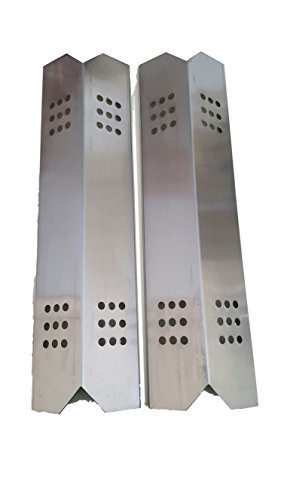 Set of Two Stainless Steel Heat Plates for Gas Grill Model Kitchen Aid 720-0819