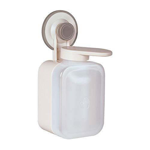 OMYLFQ Dispensadores de loción Botella de detergente de Caqui, Ideal para Platos de Cocina, instalación no porosa de dispensador de jabón, instalación Simple y sin Espacio jabón