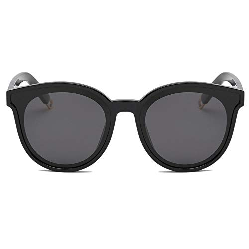 Gosunfly Gafas de sol polarizadas versión coreana femenina del mar azul con las mismas gafas de sol Gafas de sol-Negro brillante-Polvo de Barbie