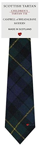 I Luv Ltd Garçon Tout Cravate en Laine Tissé et Fabriqué en Ecosse à Campbell of Breadalbane Modern Tartan