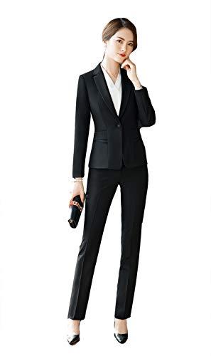 SK Studio Donna 2 pezzi Vestibilità Regolare Completo Formale Giacca e Pantaloni/Gonna Impostato
