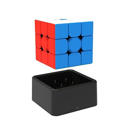 GAN 356 i v2 sin Stickers, 3x3 Smart Speed Cubo Seguimiento Inteligente Movimiento de Sincronización Paso con CubeStation App (Robot No Incluido)