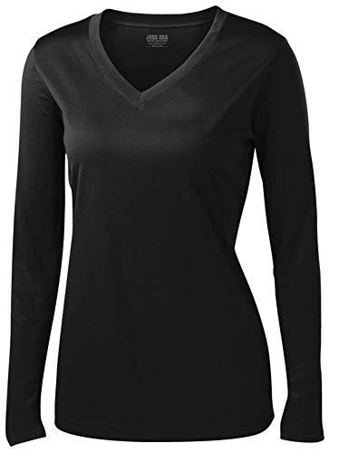 Best compression shirt women long sleeve v neck for 2020