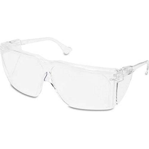 Crazywinks Protective Safety Goggles Clear Lens Laboratory Safety Goggle Eye Protection Lightweight Eyewear