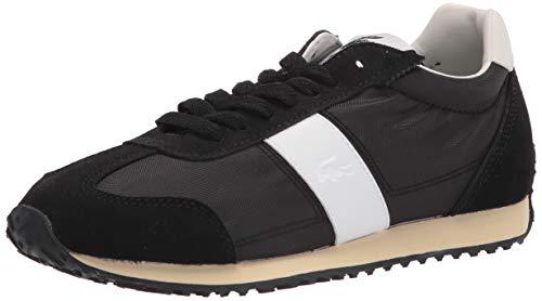 Lacoste Women's Court Pace Sneakers, BLK/Off WHT, 7.5