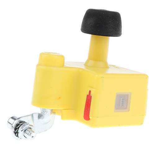 D DOLITY Fahrrad Generator Dynamo Dual USB Ports Ladegerät für Smartphone - Gelb