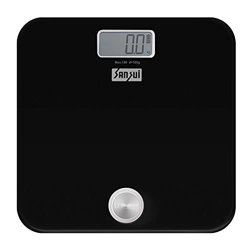 Sansui Battery-Free Digital Personal Body Weighing Scale, Strong & Best Tempered Glass...