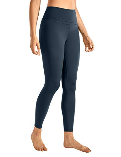CRZ YOGA Women's Naked Feeling I High Waist Tight Yoga Pants Workout Leggings-25 Inches True Navy 25'' - R009 Small