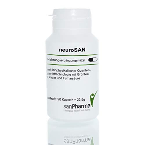 neuroSAN | Gesunde Psyche/Nervensystem | Quantenpunkttechnologie | Nahrungsergänzungsmittel | 90 Kapseln