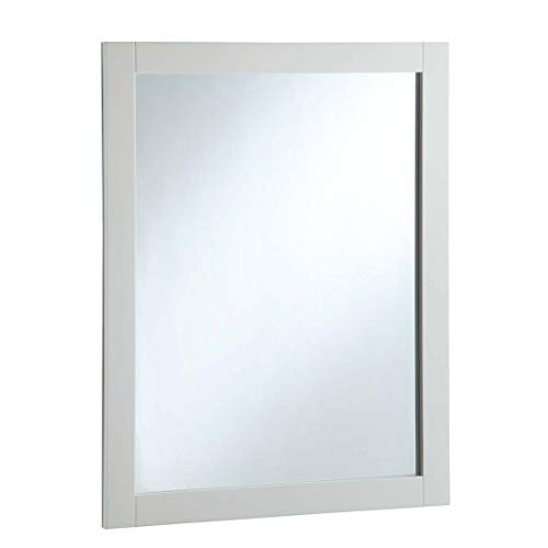DESIGN HOUSE DHI 24X30 WALL MIRROR, White -