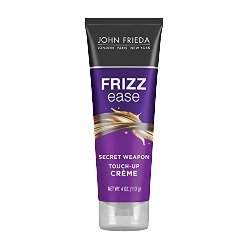 John Frieda Frizz Ease Secret Weapon Touch-Up Crème, Anti-Frizz Styling Cream, Helps to Calm and Smooth Frizz-prone Hair, 118 ml
