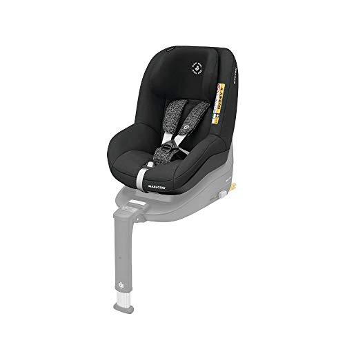Maxi-Cosi Pearl Smart Kindersitz - rückwärts & vorwärtsgerichtetes Fahren möglich, für ISOFIX-Basis FamilyFix One i-Size, Gruppe 1 (9-18 kg), black grid