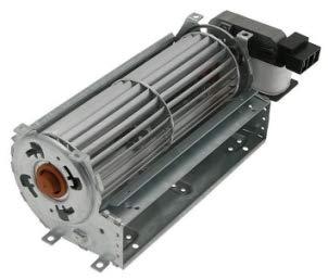Ventilador de aire original MCZ para estufas de pellet, cód. 41450907800