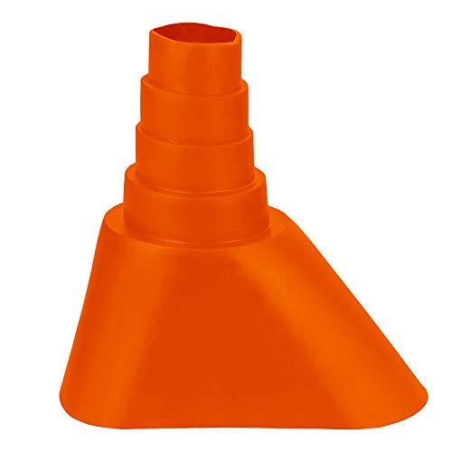 günstig Universelle Gummischeibe HB-DIGITAL Orange ✨ Für Rohre mit einem Durchmesser von 32 bis 60 mm ﹢… Vergleich im Deutschland