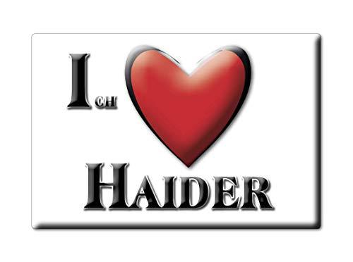 Enjoymagnets Haider (by) Souvenir Deutschland Bayern Fridge Magnet KÜHLSCHRANK Magnet ICH Liebe I Love