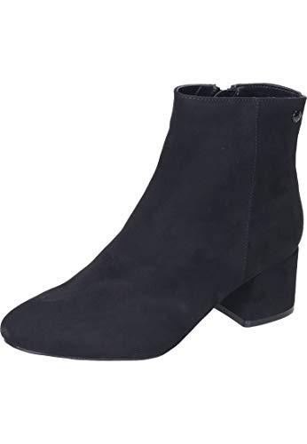 s.Oliver Damen Stiefeletten 25352-23, Frauen Stiefelette, Stiefel halbstiefel Bootie hoher Absatz sexy feminin Damen Frauen Lady,Black,37 EU / 4.5 UK