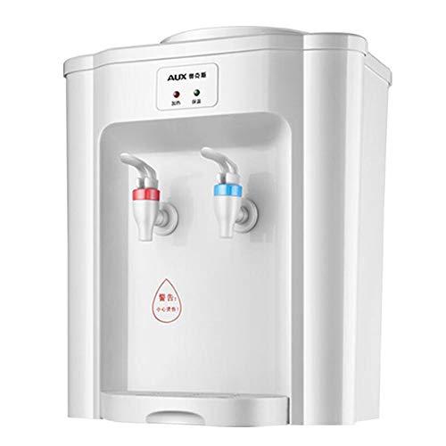 WXFQY Mini Mesa Caliente y dispensador de Agua fría, de Ahorro de energía Caliente y fría purificador, automática Constante Temperatura de Acero Inoxidable de línea, Conveniente for el Dormitorio/of