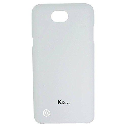 Capa Protetora Hard Clean-Up para K10 Power, Voia, Capa Protetora para Celular, Branca