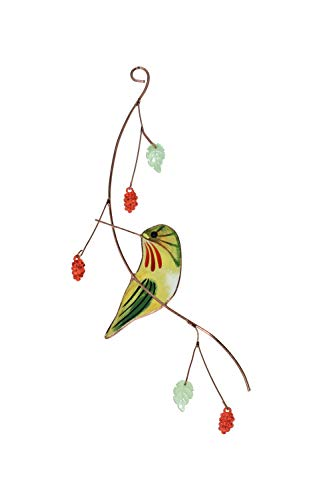 Lolitarcrafts Hummingbird Stained Glass Sun catcher A Lovely Gift for Your Family