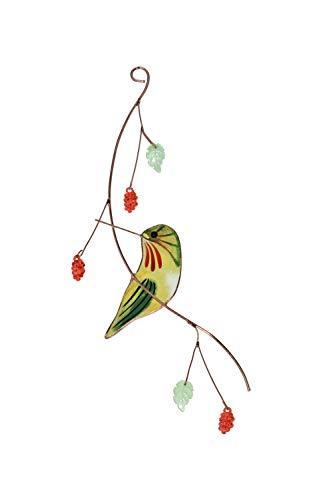 Lolitarcrafts Hübscher Sonnenfänger mit Kolibri, Buntglas, ein schönes Geschenk für Ihre Familie