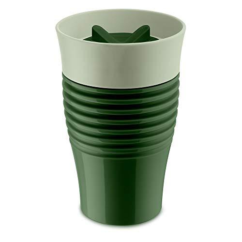 koziol 3797312 SAFE TO GO Thermobecher 400ml, Thermoplastischer Kunststoff