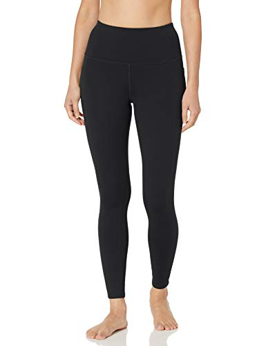 Skechers Women's Walk Go Flex High Waisted 2-Pocket Yoga Legging, Black, XXL