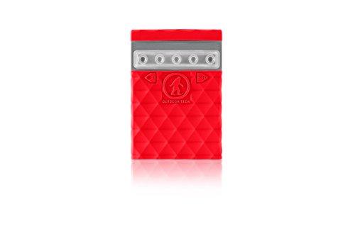 Outdoor Tech. Unisex Kodiak Mini 2.02,6K Powerbank, rot