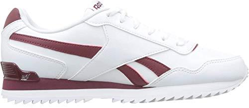Reebok Royal Glide Rplclp, Zapatillas de Deporte para Hombre, Blanco (White/Collegiate Burgundy 000), 40 EU