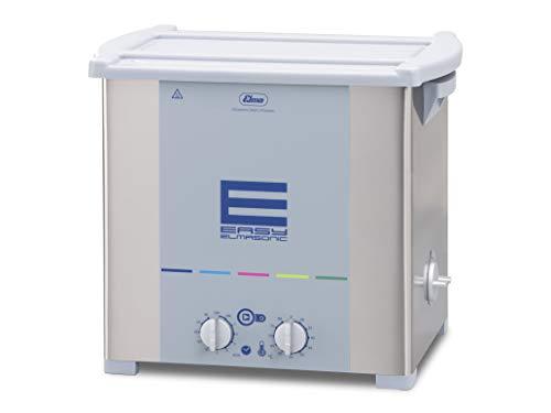 Elmasonic Easy 120H Ultraschallreinigungsgerät mit Heizung 12 Liter 37kHz 230V made in Germany Reinigung von Schmuck, Uhrenteile, Abdrucklöffel, Brillen, Metallteile, Laborinstrumente