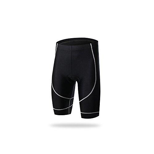 SKYSPER Pantalons Court Cyclisme avec Gel 3D...