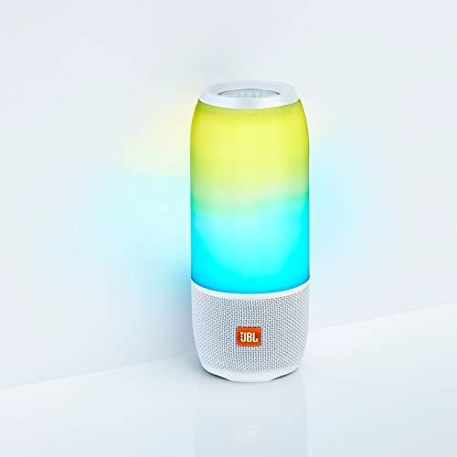 JBL Pulse 3 - Wireless Bluetooth Waterproof Speaker - White