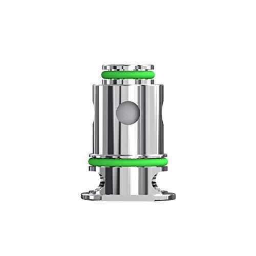 Cabezal de bobina original Eleaf GTL de 1,2 ohmios (paquete de 5) para kit de bolígrafo de vidrio, cartucho de cápsulas, bobinas de vaporizador de cigarrillos electrónicos MTL Vaping, sin nicotina
