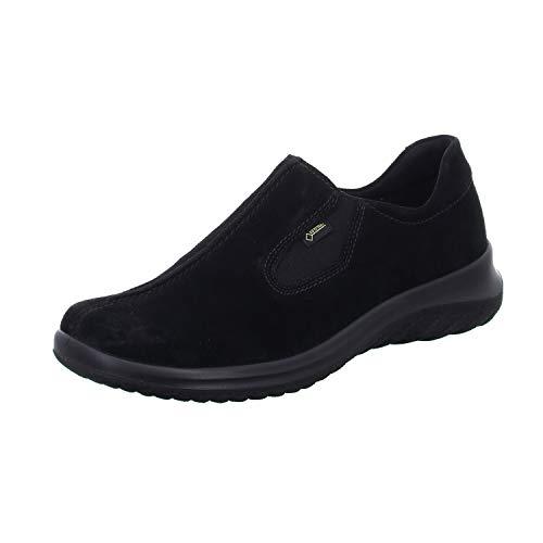 Legero Damen Softboot 4.0 Gore-Tex Sneaker, Schwarz (Schwarz (Schwarz) 00), 43 EU