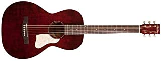 Art & Lutherie Roadhouse Parlor Acoustic Guitar | Tennesse Red