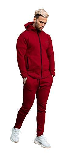Aspire Wear -  Tuta da Ginnastica - Uomo Rosso S