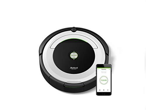 iRobot Roomba 691 Saugroboter, geeignet für Teppiche und Hartböden, Dirt Detect Technologie,...