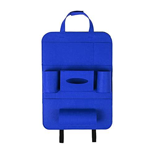 VastSea 2 unids multi-bolsillo asiento asiento trasero organizador bolsa de almacenamiento pad tazas almacenamiento teléfono titular fieltro tela protector para niños niños
