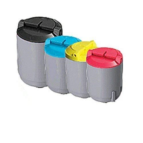 kompatibler XXL Toner Set für Samsung CLP 300 300N 300NG CLX 2160 2160N 3130 CLX 3130N 3160 3160N 3160FN - Toner Set